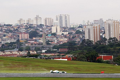 Rosberg P1 and Hamilton P5 finished today's practice sessions at a wet Interlagos circuit