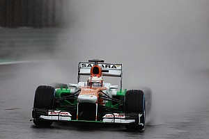 Formula 1 Qualifying report Di Resta and Sutil qualified in 12th and 16th places respectively for tomorrow's Brazilian GP
