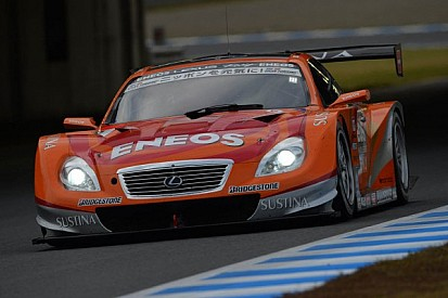 Pole-to-goal win for Oshima in the ENEOS SUSTINA SC430 at Fuji Speedway