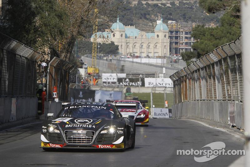 Magic Baku for the Belgian Audi Club Team WRT