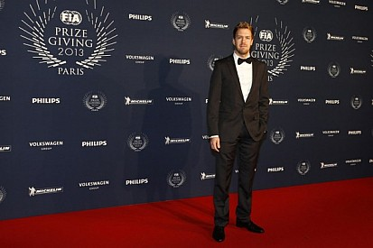 Vettel and Red Bull Racing take their championship awards in Paris
