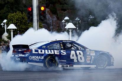 NASCAR fetes Jimmie Johnson as 6-time champion