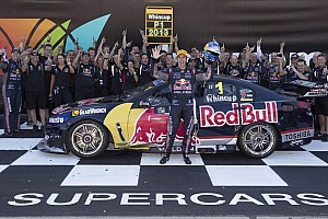 Supercars Breaking news Whincup takes his fifth V8 Supercars championship