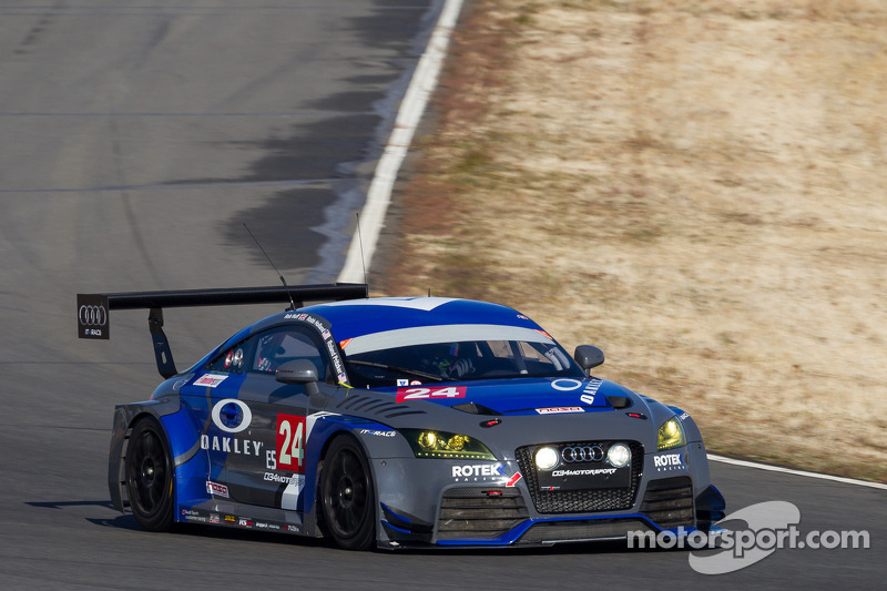 Rotek Racing Audi leads at 18 at USAF 25 Hours of Thunderhill