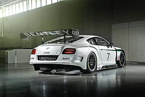Endurance Preview New Bentley Continental GT3 ready to race in Abu Dhabi