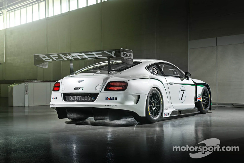 New Bentley Continental GT3 ready to race in Abu Dhabi