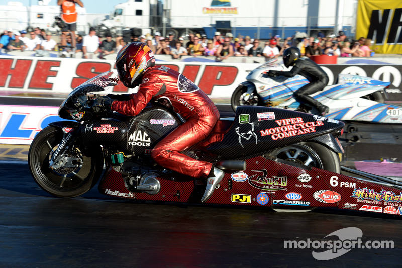 Top 20 moments of 2013, #15: Father-son claim NHRA titles in same season