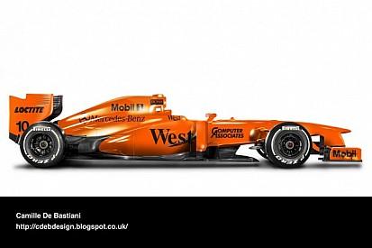 McLaren could launch orange 2014 car - report