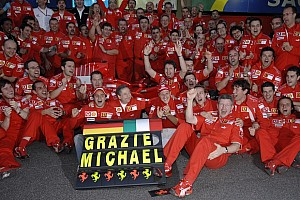Formula 1 Breaking news Scuderia Ferrari statement on Michael Schumacher