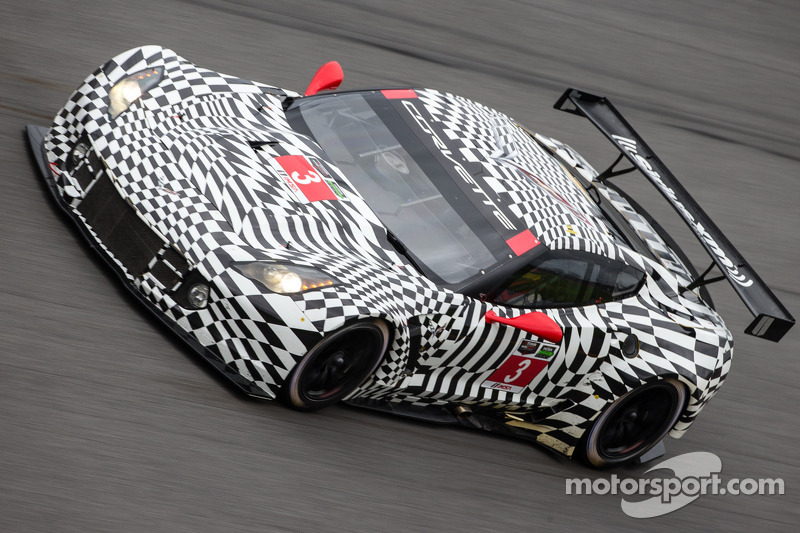 Magnussen led competitors in the GT Le Mans class in Saturday at Daytona