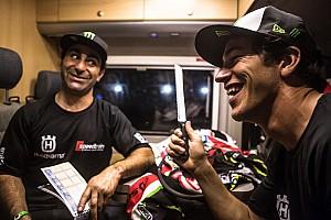 Dakar Stage report Honda: Victory as Rally Dakar gets underway