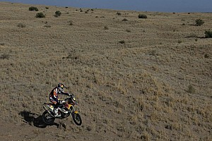Dakar Stage report Barreda and Sainz strike back but Coma and Roma stay in control