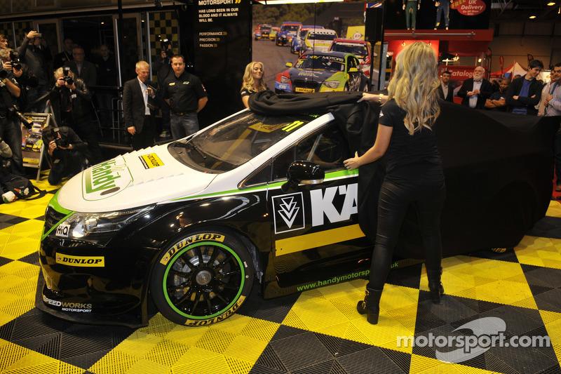 Big BTCC news and unveils at Autosport International