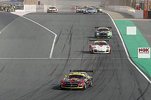 Endurance Race report Podium for Black Falcon's SLS AMG GT3 at the 24 hours of Dubai