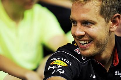 Vettel's number 5 not Schumacher tribute