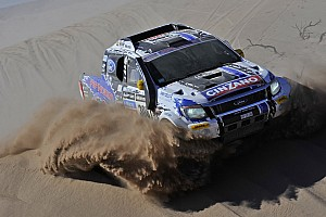 Dakar Stage report Team Ford Racing: stage 10 - Iquique to Antofagasta