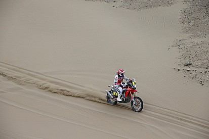 Barreda completes longest stage confidently
