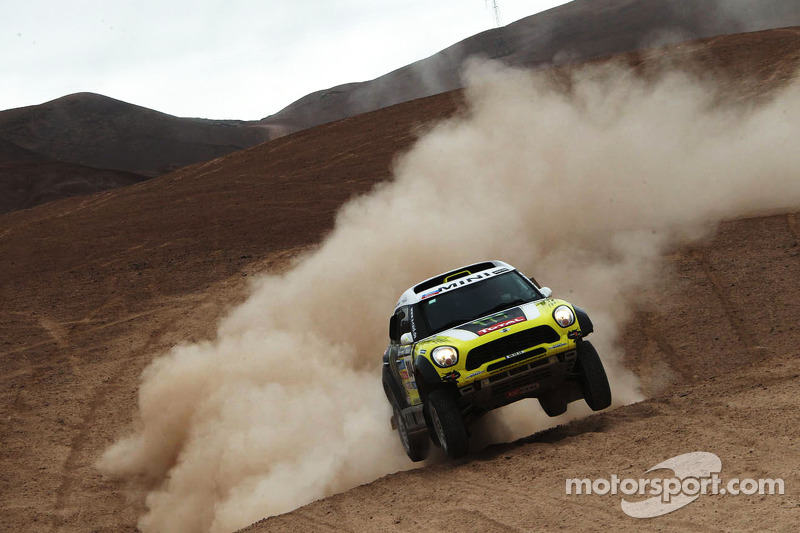 """Joan """"Nani"""" Roma wins the 2014 Dakar Rally"""
