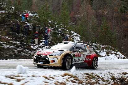 First WRC podium finish for Kris Meeke