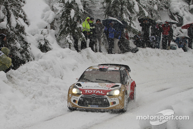 British success in the Monte Carlo rally