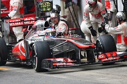 Crash test situation 'normal' insists McLaren