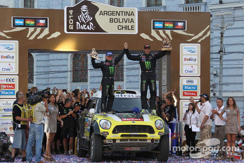 MINI ALL4 Racing: DAKAR final results