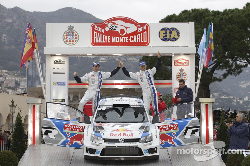 """Monte"" victors Ogier/Ingrassia enjoy triumphant celebrations in Monaco"