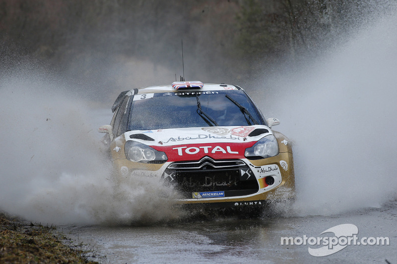 Kris Meeke gets his first WRC podium