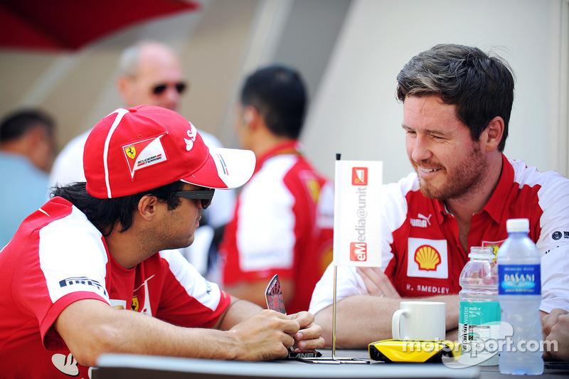 Smedley won't be Massa's race engineer at Williams
