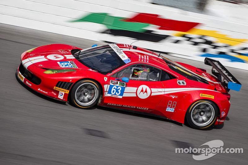 Scuderia Corsa Ferrari sweeps front row in qualifying at Daytona