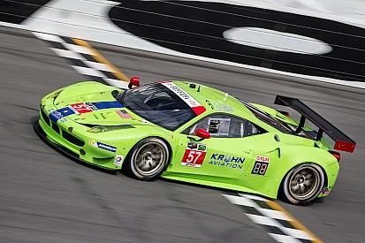 Krohn Racing after 6-hours of Rolex 24 at Daytona