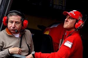 Formula 1 Breaking news Todt still at Schumacher's bedside