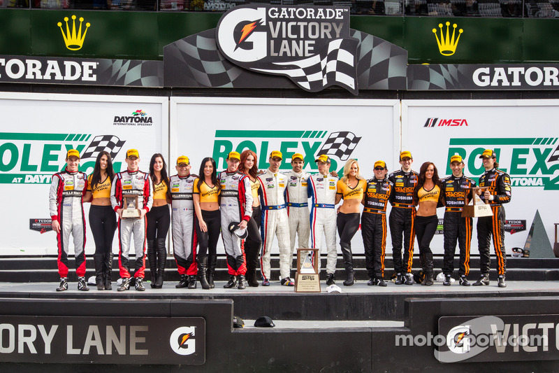 Near-Perfect ending to Taylor story at Rolex 24