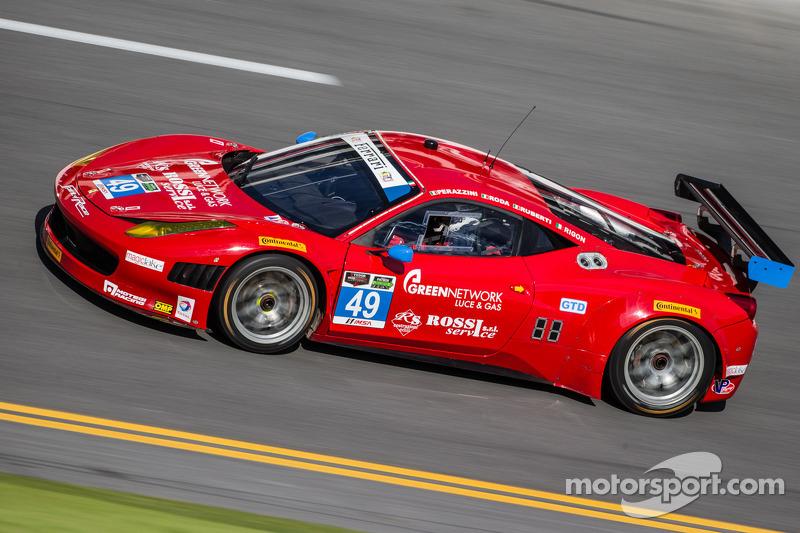 Paolo Ruberti on his 24 Hours of Daytona