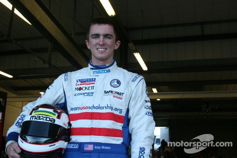 Bickers ready to take on Mazda MX-5 Cup challenge