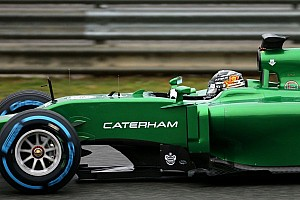 Formula 1 Breaking news Caterham played safe for Jerez amid Renault crisis