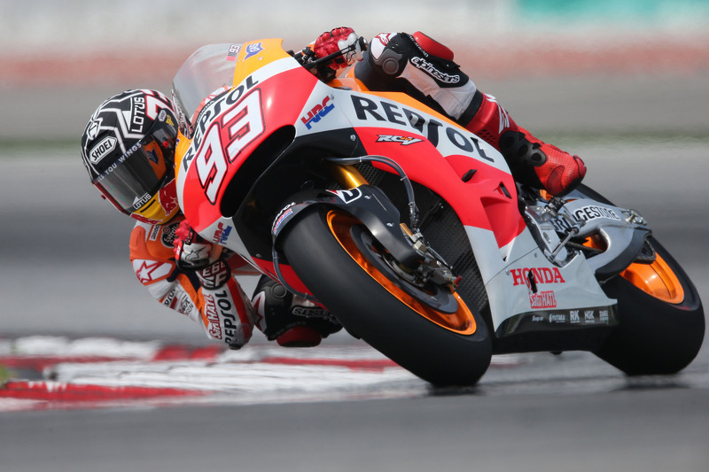 Marquez leads the way as MotoGP 2014 roars into action at Sepang