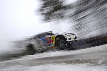Volkswagen drivers dominate day one of the Rally Sweden