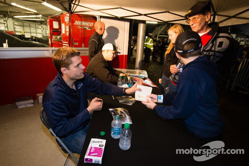 Bayne, Gilliland and Ragan press conference at Daytona