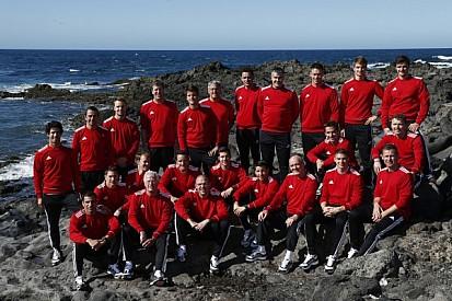 Audi team prepares in Lanzarote