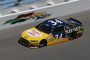 NASCAR Cup Preview Ragan 'brakes for trains' but not Superspeedways