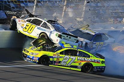 Team Chevy drivers involved in multi-car practice crash at Daytona