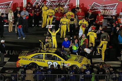 Joe Gibbs Racing sweeps duel at Daytona