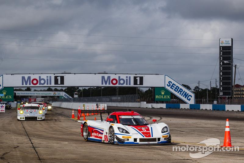 Action Express Racing sets the pace in IMSA testing at Sebring International Raceway