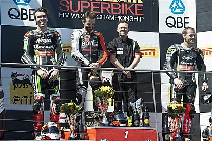 Sylvain Guintoli wins race 2 and becomes Championship leader