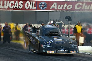 NHRA Qualifying report Good qualifying attempt for Alexis DeJoria at Phoenix