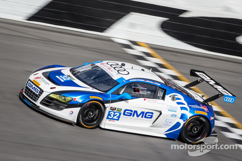 GMG concludes Sebring test as one of Audi's top contenders
