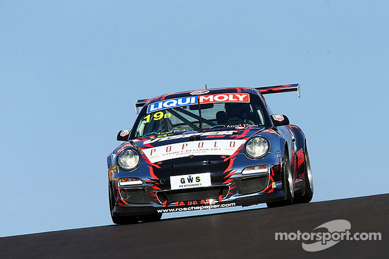 New cars take to the track in Adelaide