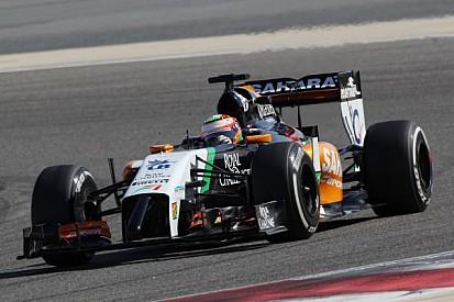 Perez fastest as Bahrain testing resumes