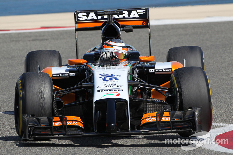Sahara Force India completes its pre-season testing programme in Bahrain